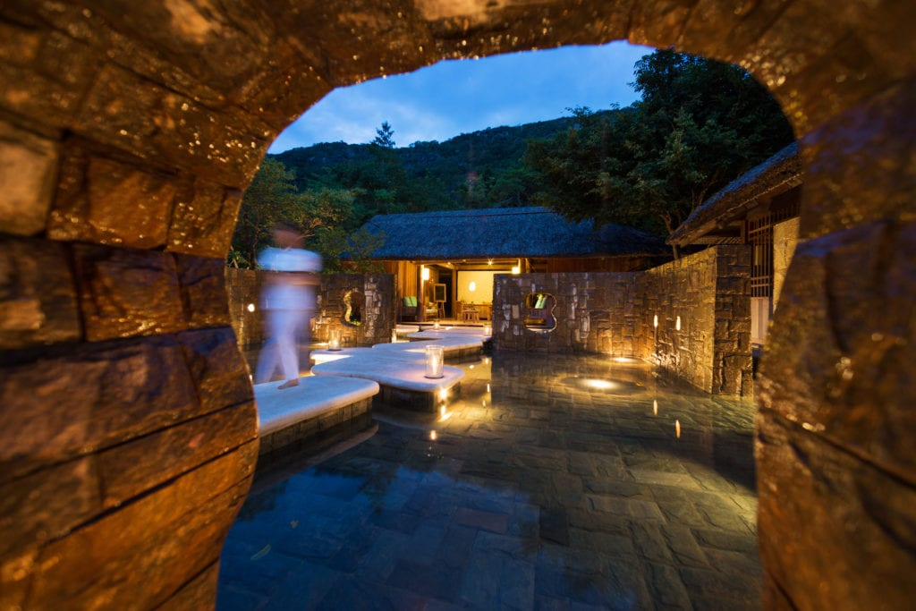 Space Reception Six Senses Ninh Van Bay Vietnam
