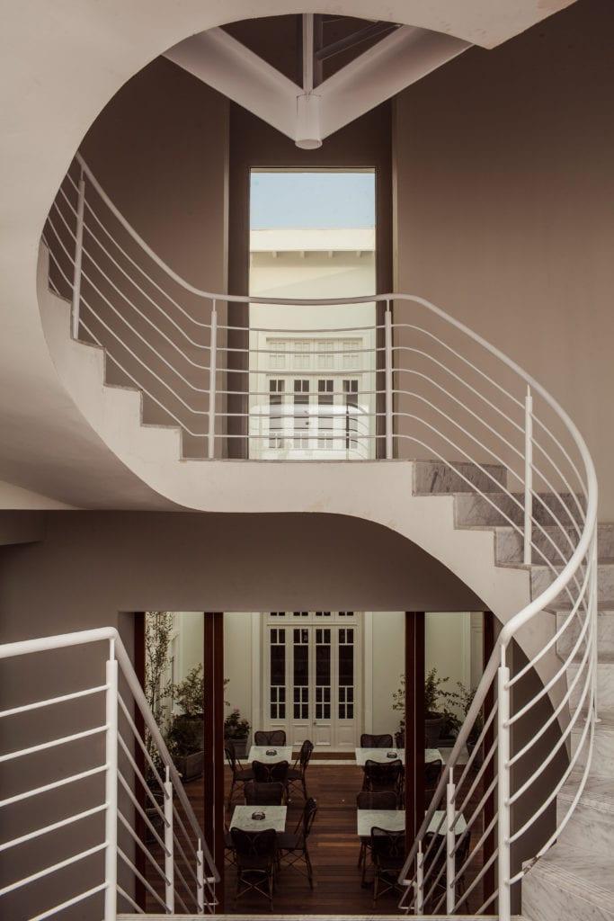 Staircase Interior Hotel B Peru