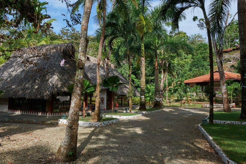 Exterior View of the retreat in El Otro Labo Panama