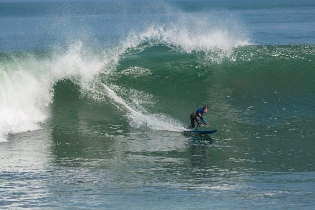 Surfing on the Peruvian Coast