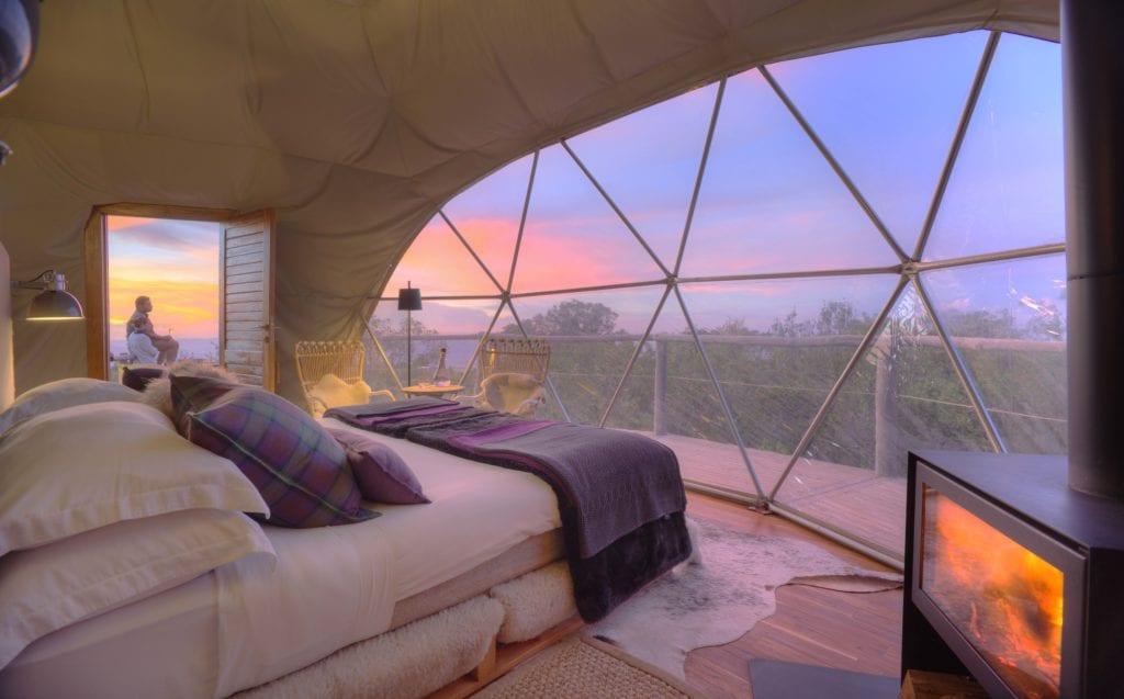 Highlands camp dome Tanzania