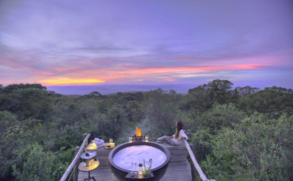 Treetop view Tanzania