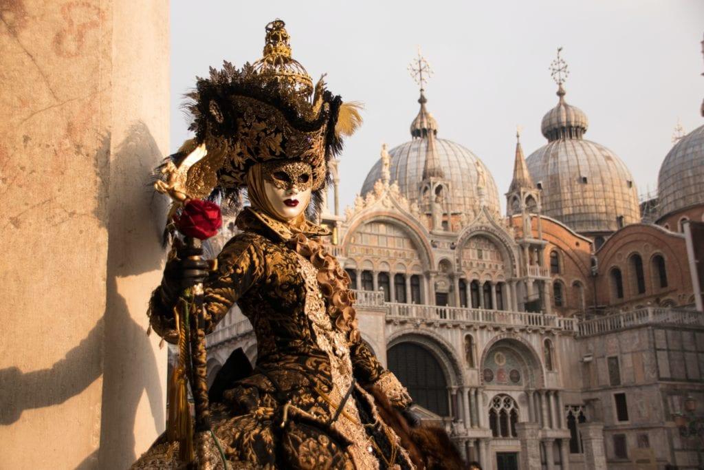 Venice Clown Mask
