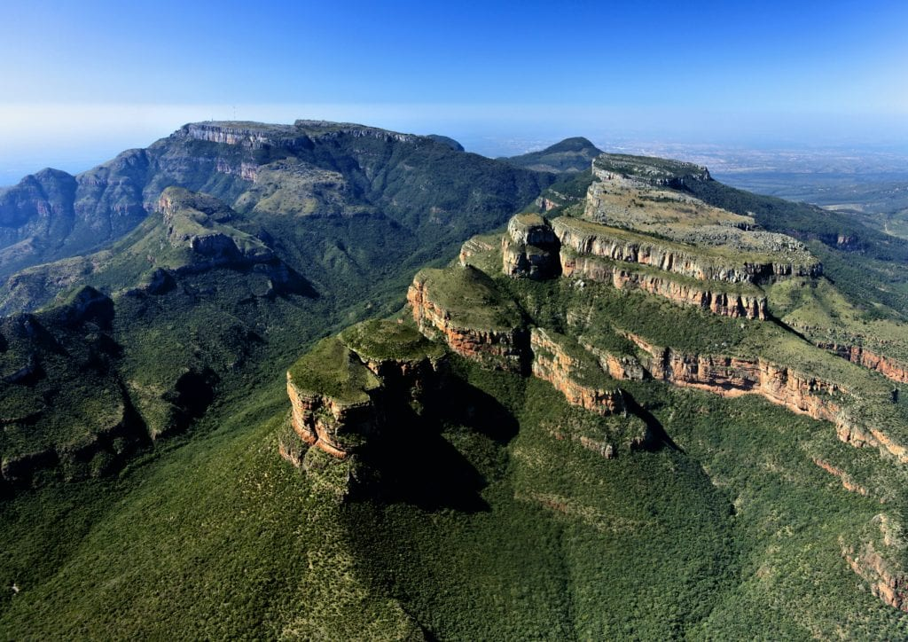 View of Blyde Canyon in South Africa