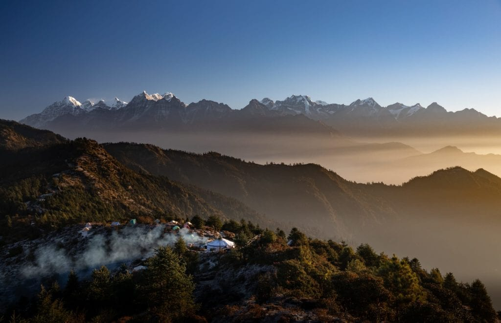 Views over Mountains and Jungles Nepal