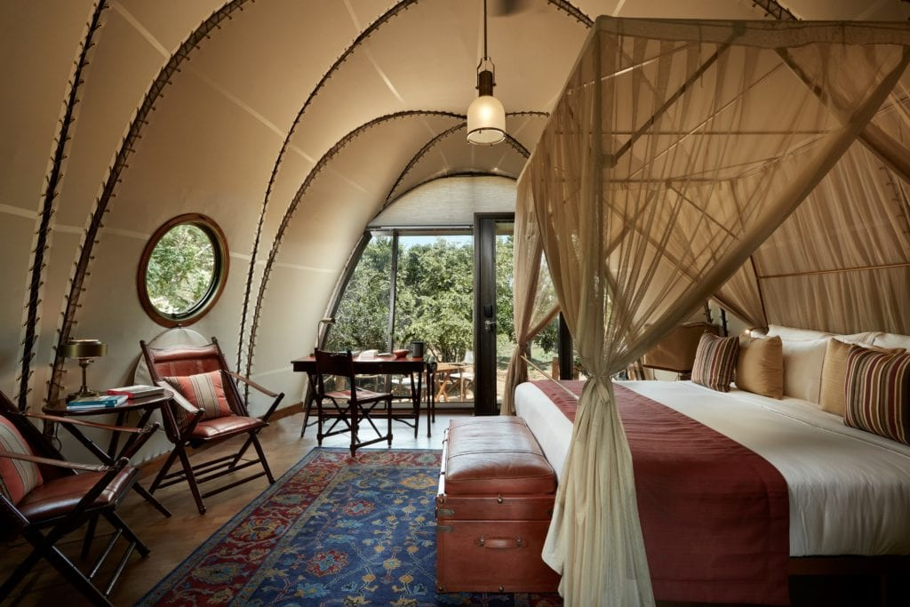 Room Interior Cocoon Wild Coast Tented Lodge Sri Lanka