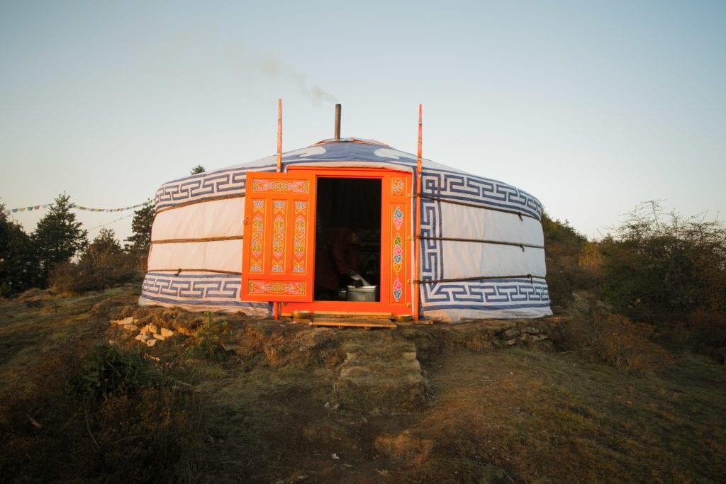 Yurt Accommodation in Nepal