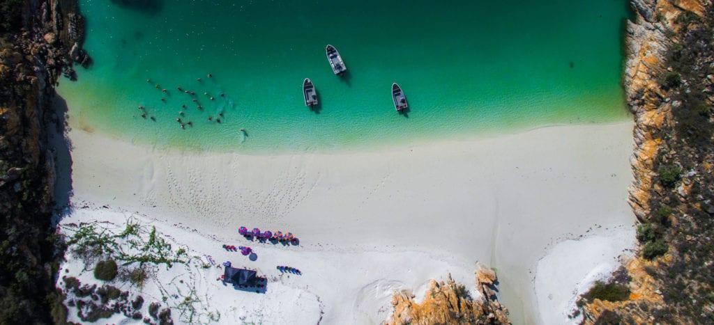 Aerial The Kimberley Australia Beach