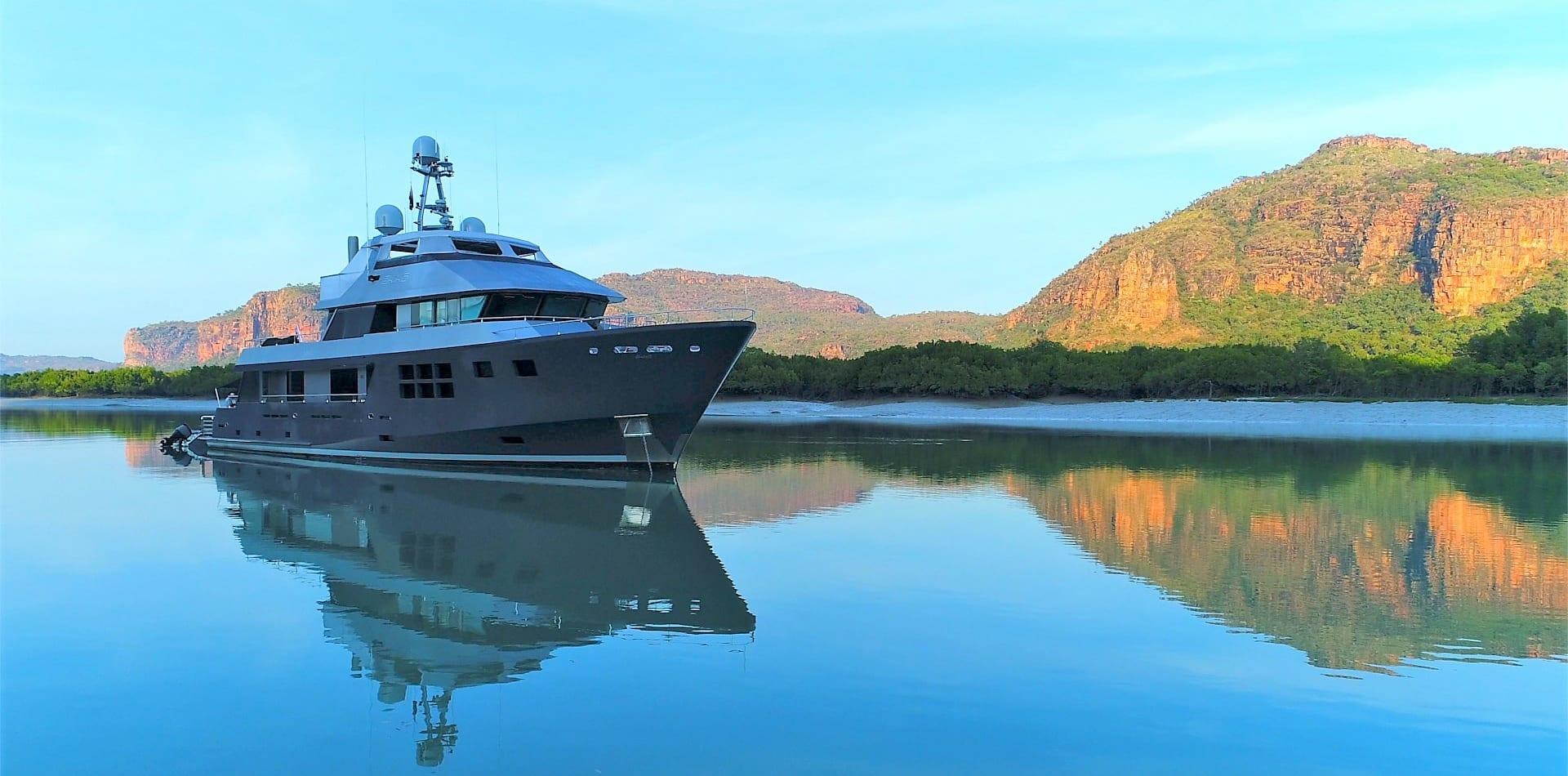 akiko yacht exterior hero