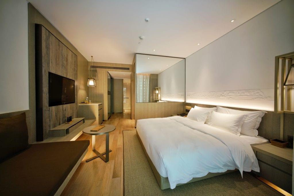 Alila Yangshuo bedroom interior