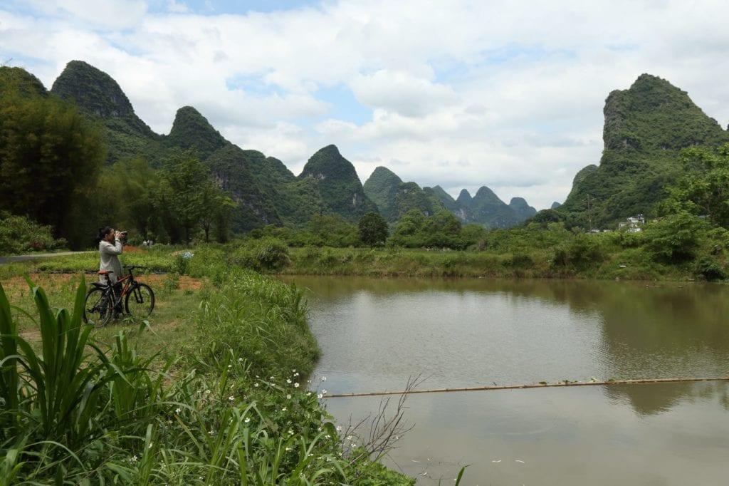 bike ride Alila Yangshuo