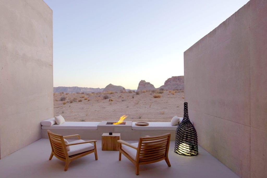 Amangiri Suite Desert Lounge USA