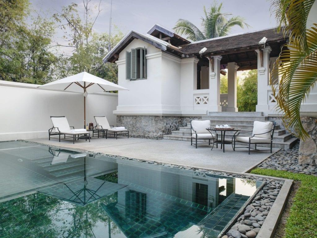 pool suite exterior amantaka laos