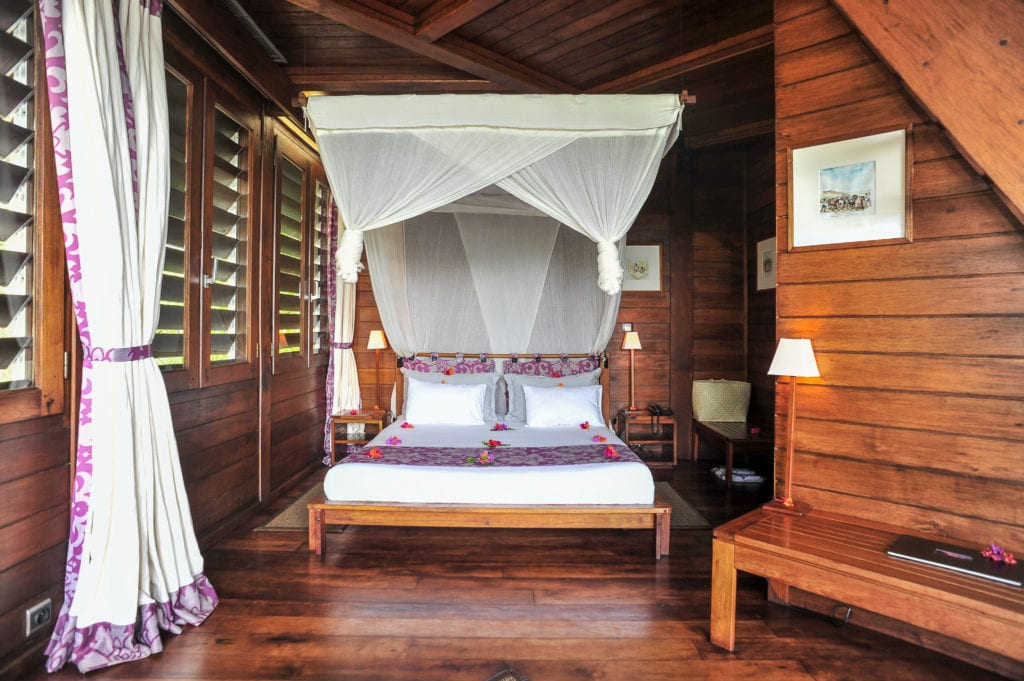 anjajavay lodge bedroom interior