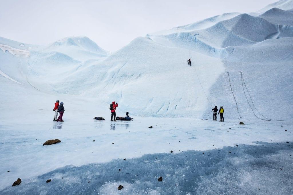 Antarctica Landscape Climbing