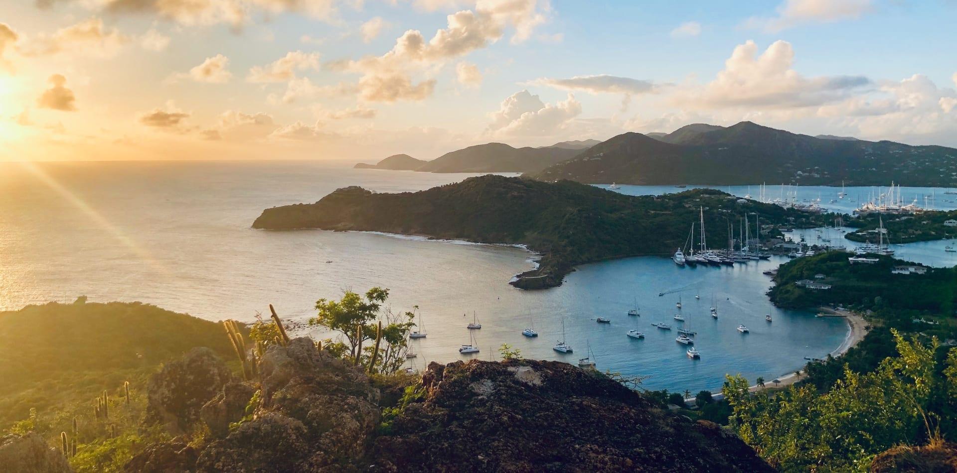antigua harbour yachts caribbean