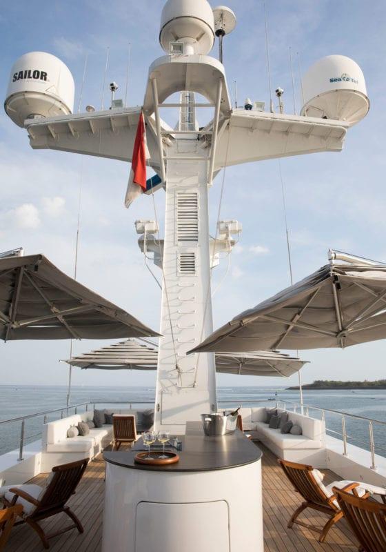 aqua blu yacht exterior deck