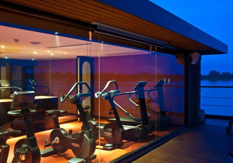 aqua mekong yacht exterior gym
