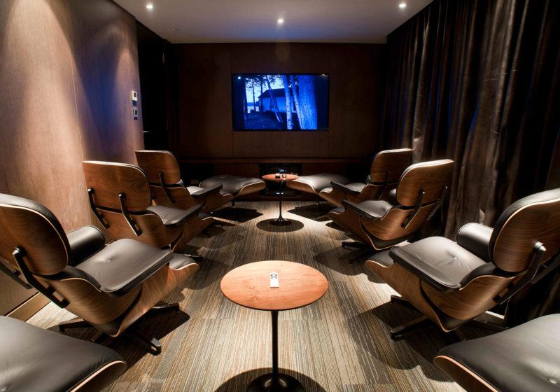 aqua mekong yacht interior cinema