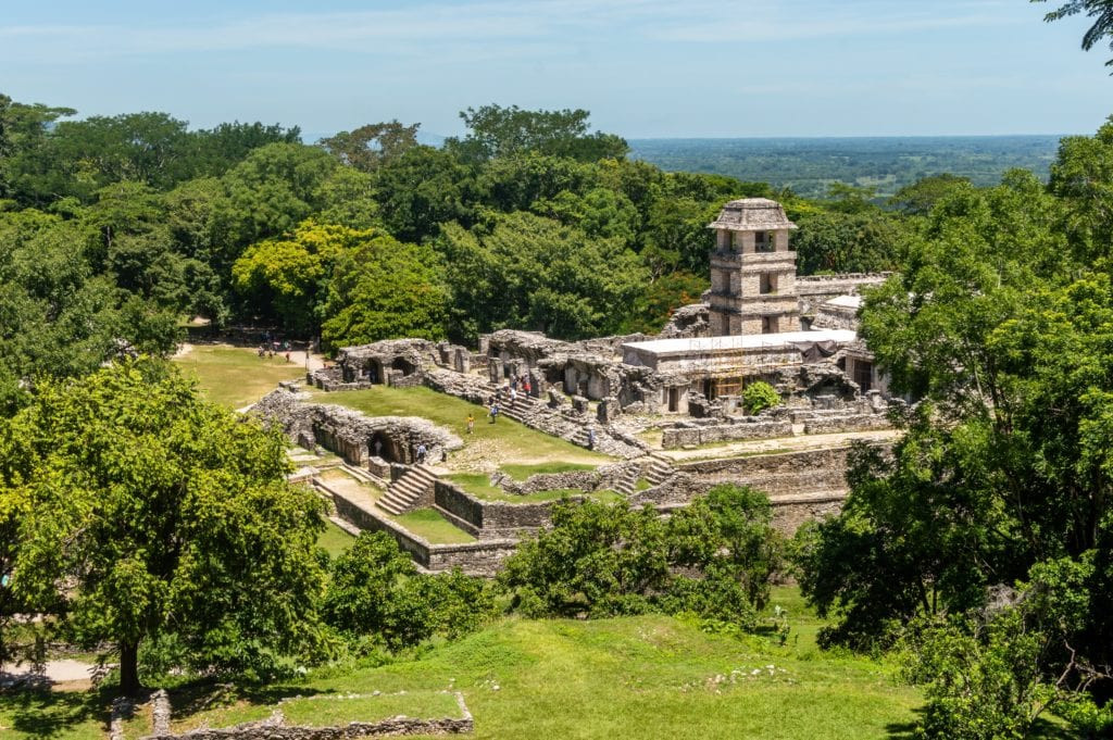 belize mayan archaeological site