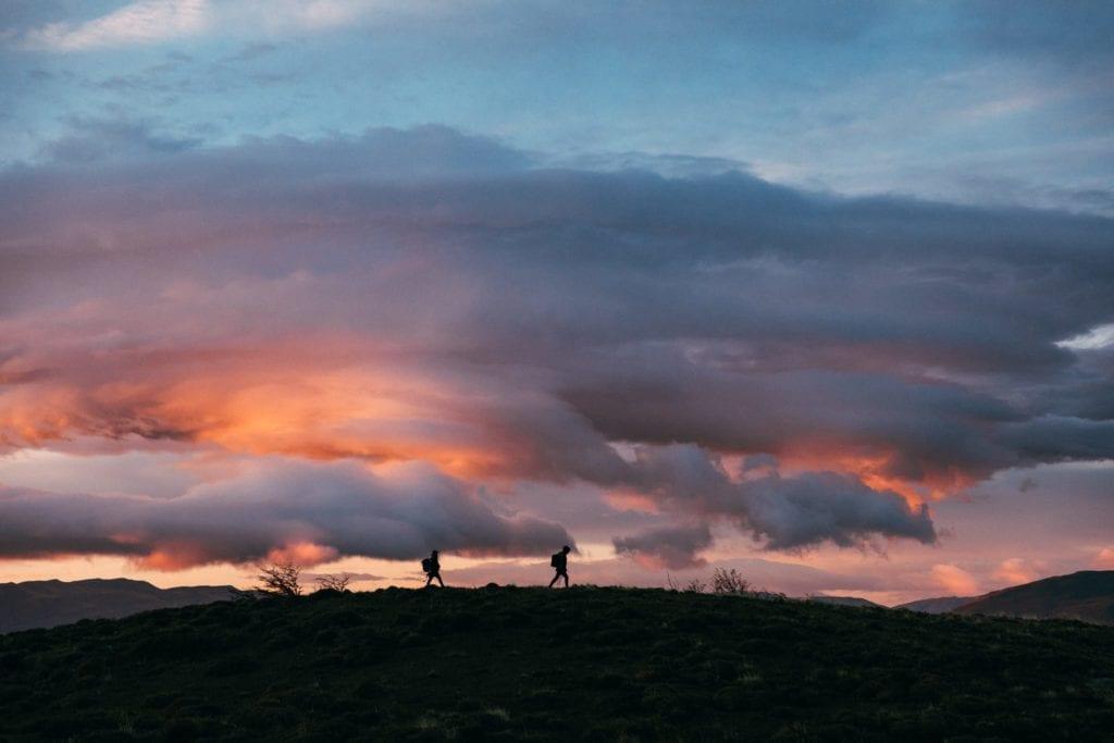 dramatic clouds in Argentina