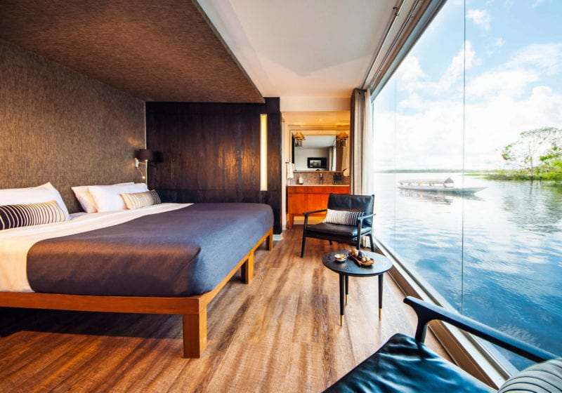 aria amazon yacht interior