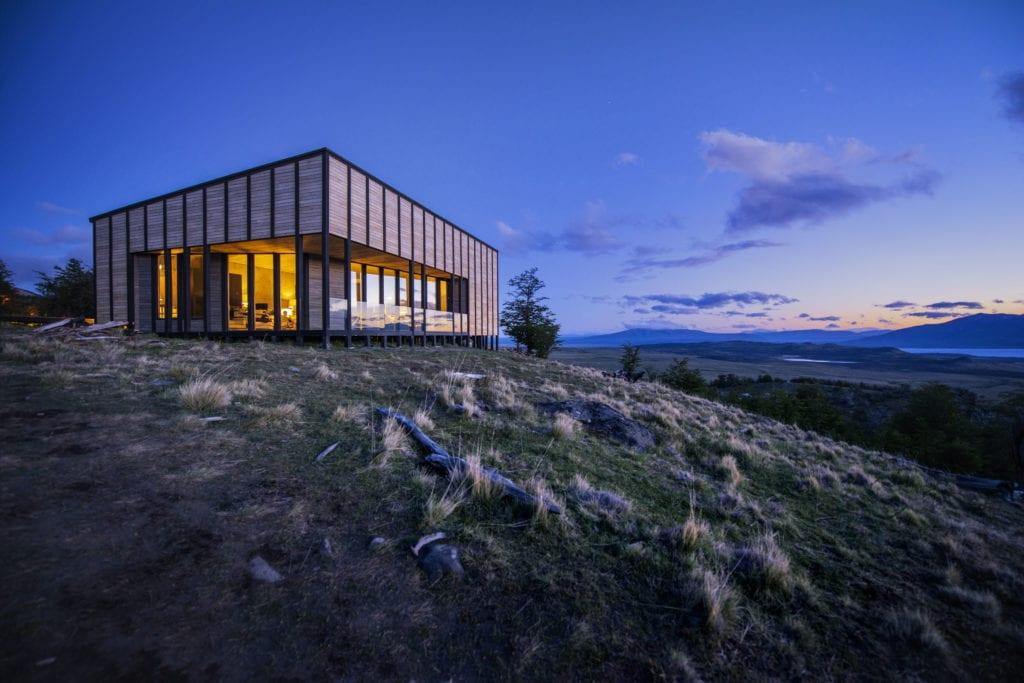 exterior by night awash Patagonia
