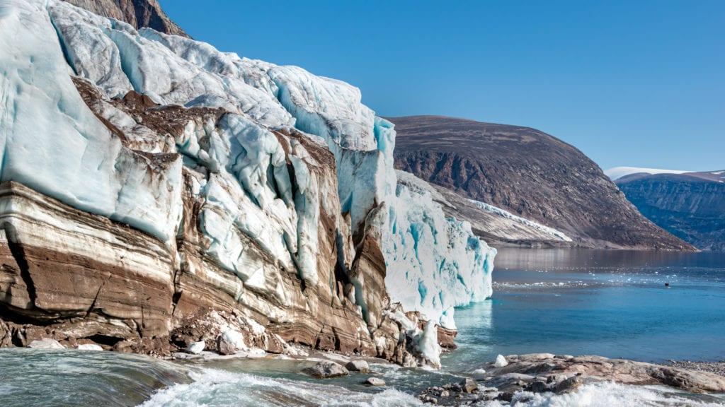 Glacier Baffin Island