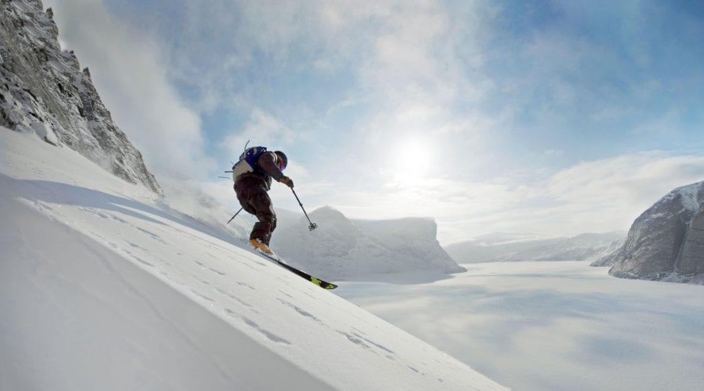 Skiing Baffin Island