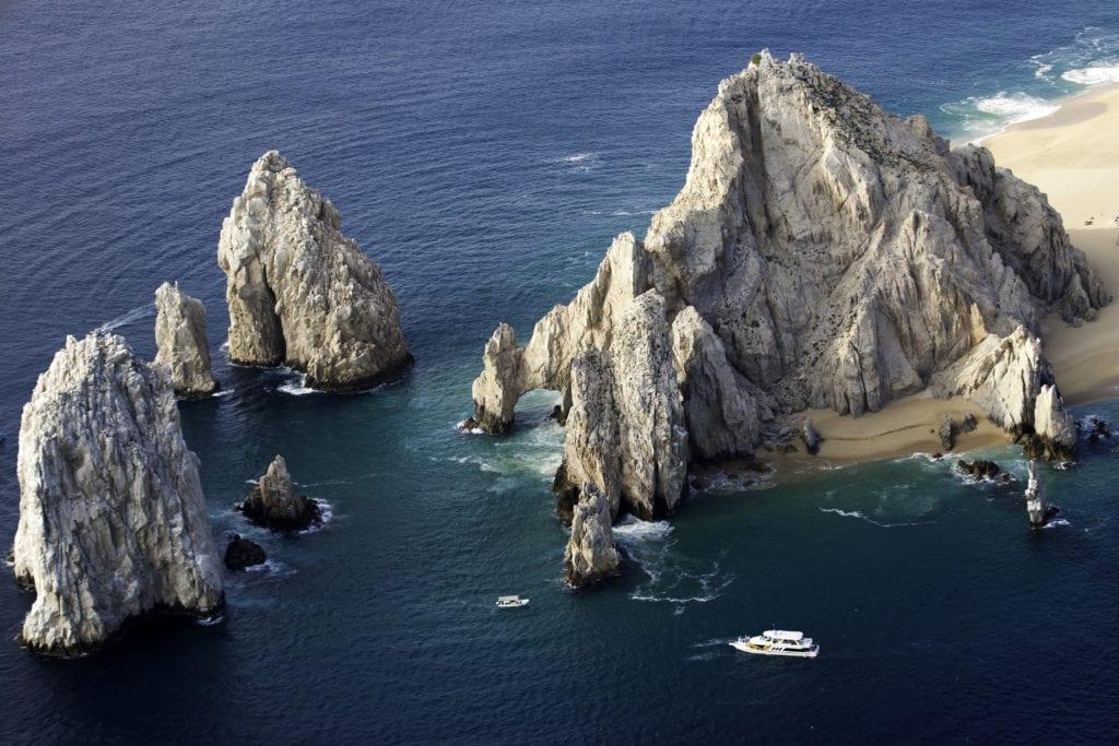 Baja California rocky arches