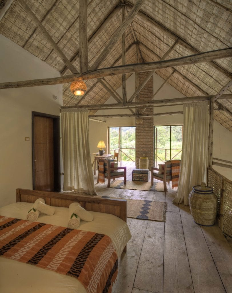 Bale Mountain Lodge bedroom interior