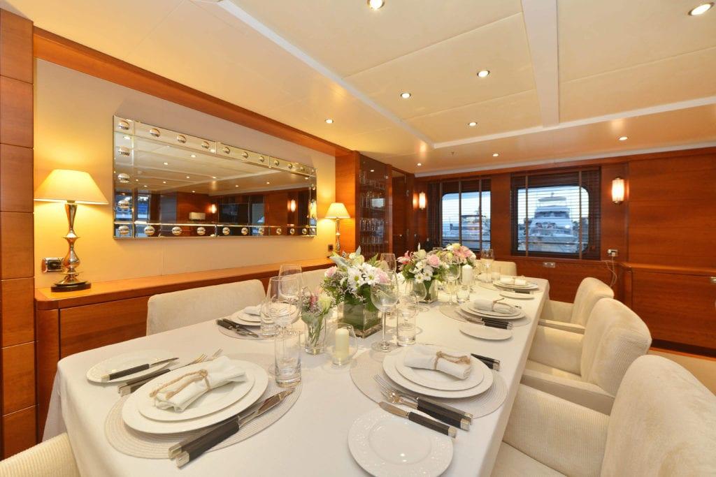beluga yacht interior
