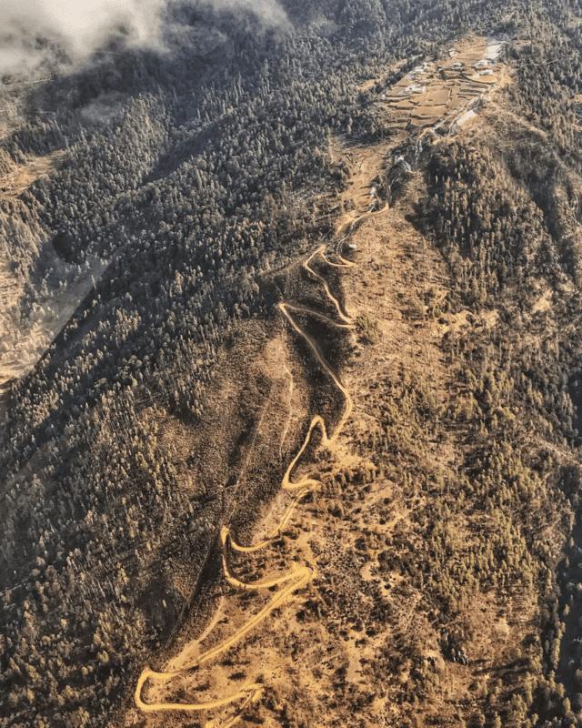 Bhutan mountain biking tracks