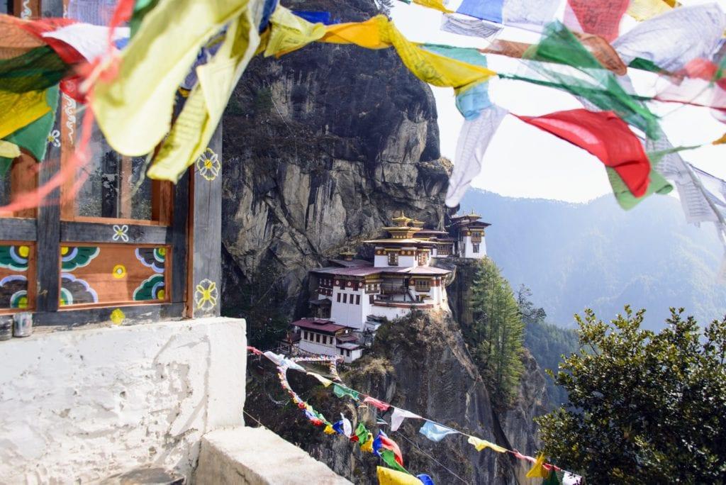 Tiger's nest temple Bhutan