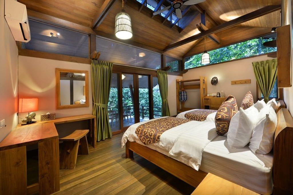 Borneo Sakau Bedroom