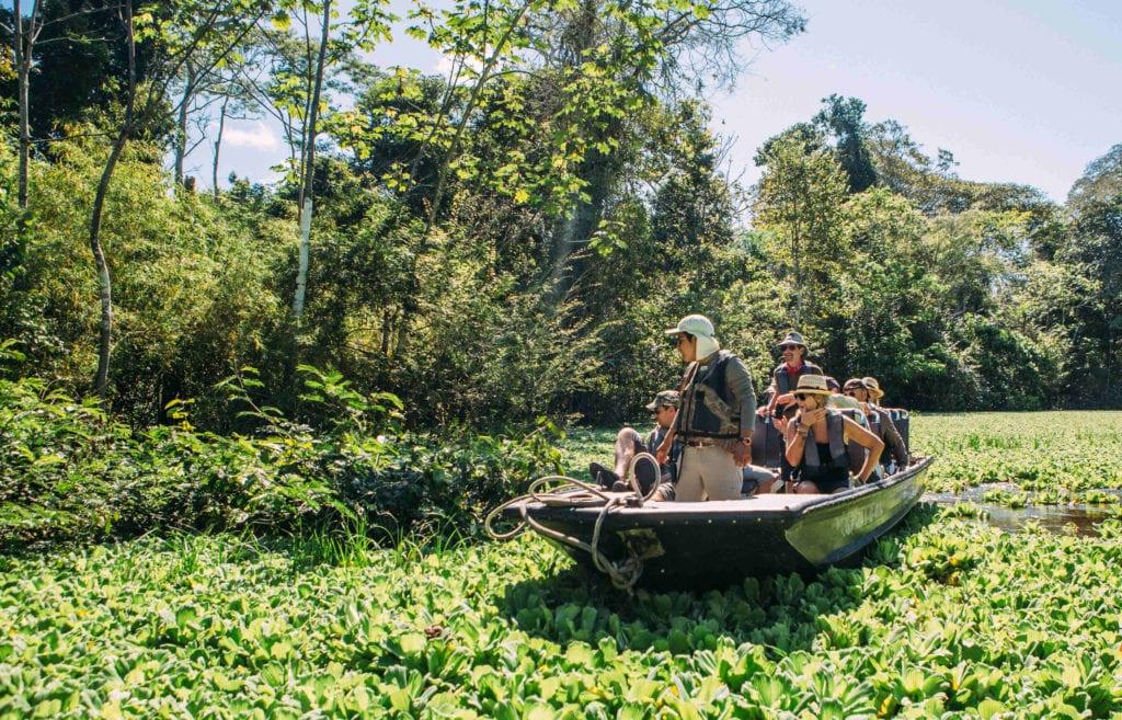 Brasil Amazon Skiff Boat ride