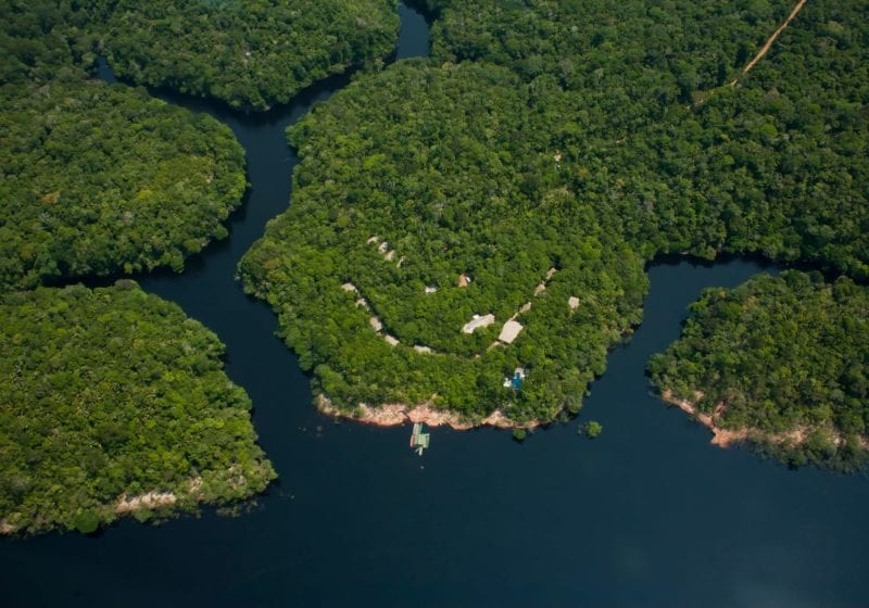 Brazil Amazon Rio Negro Panoramic Flight