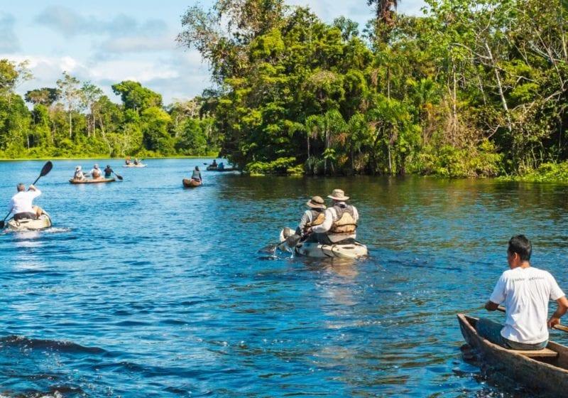 Brazil Amazon River Kayak Group