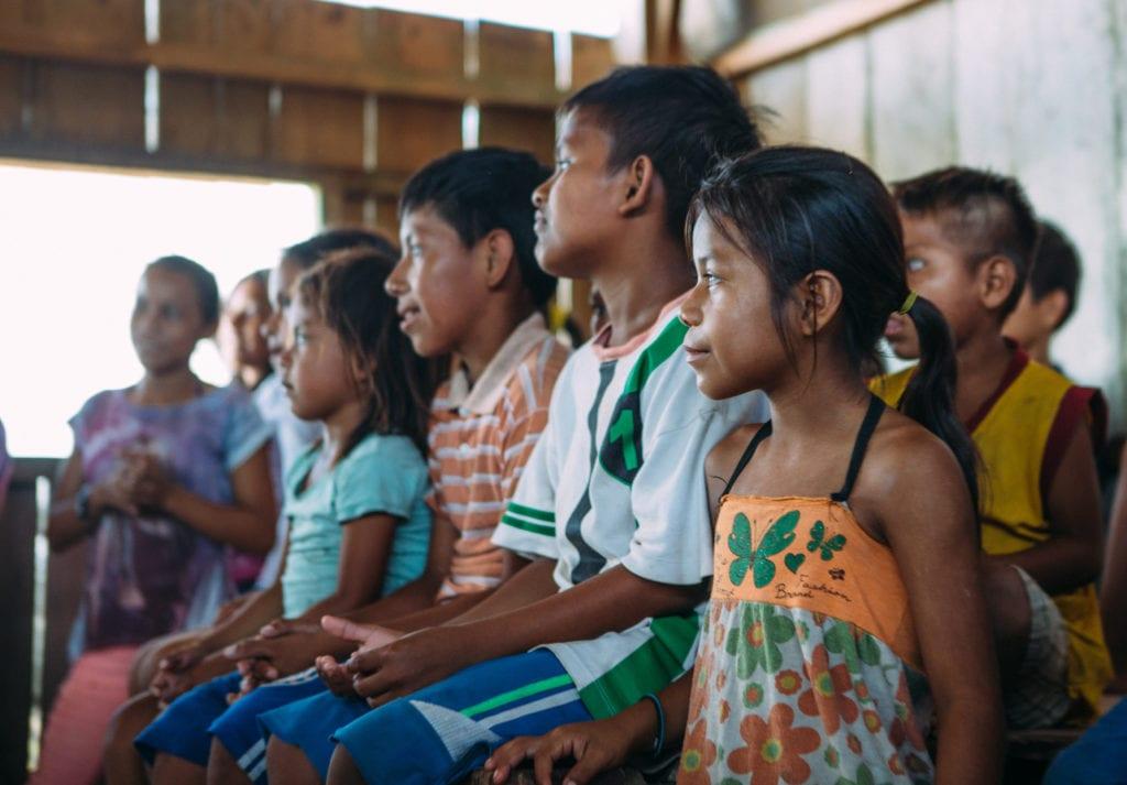 Brazil Amazon School Children Class