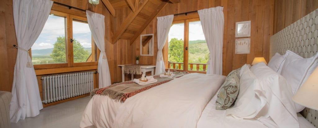 Caballadas bedroom interior
