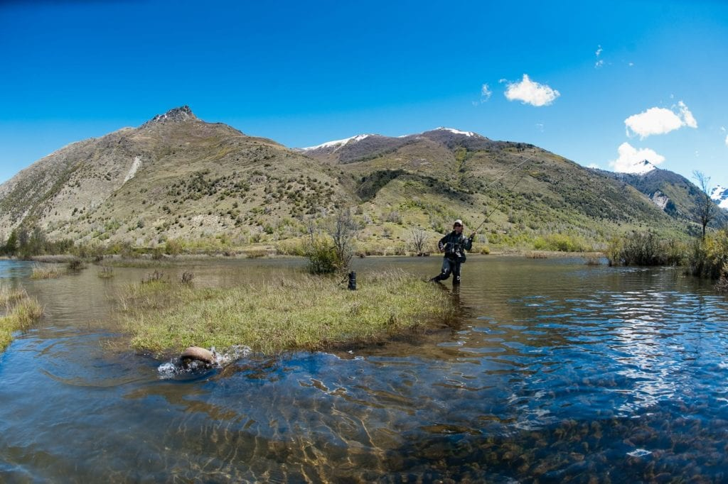 Caballadas fly-fishing excursion in Argentina