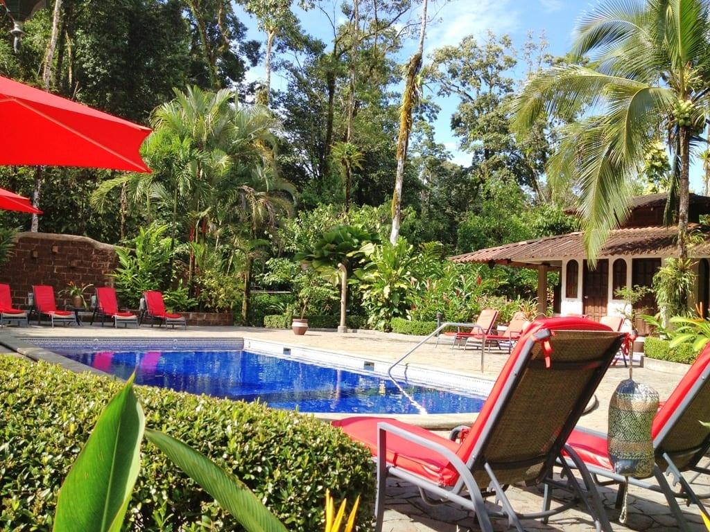 Casa Corcovado outdoor swimming pool