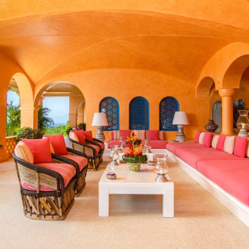 villa interior casa cuixmala mexico