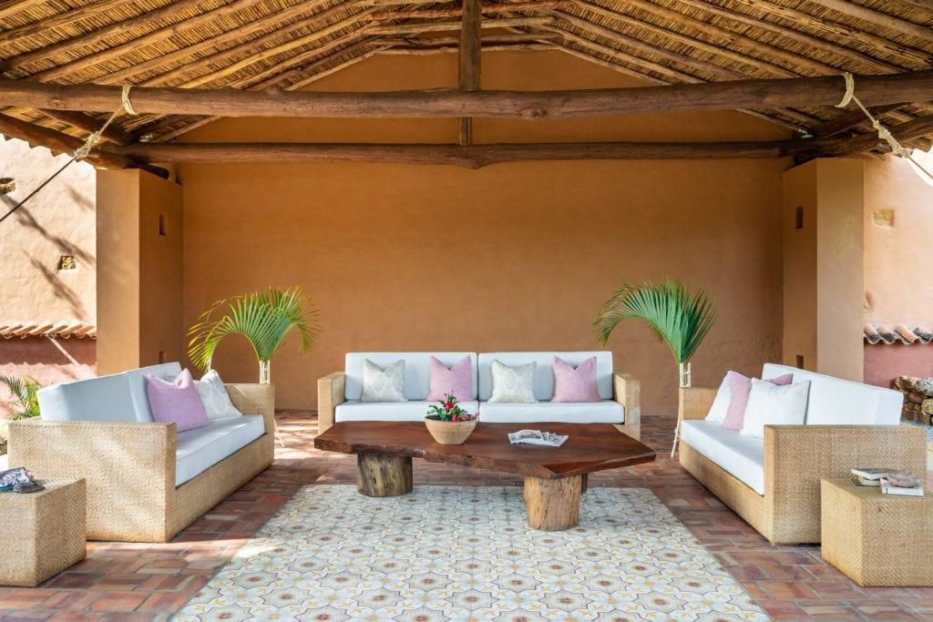 Casa del Presidente outdoor lounge