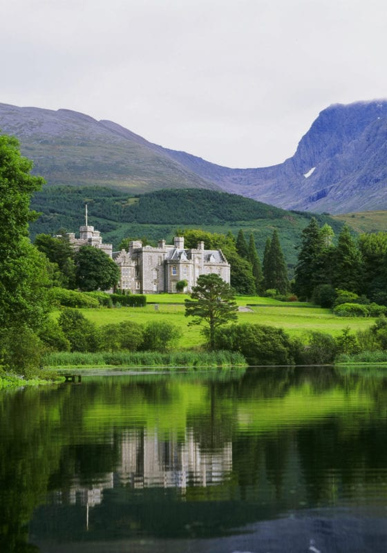 Castle Lake Scotland