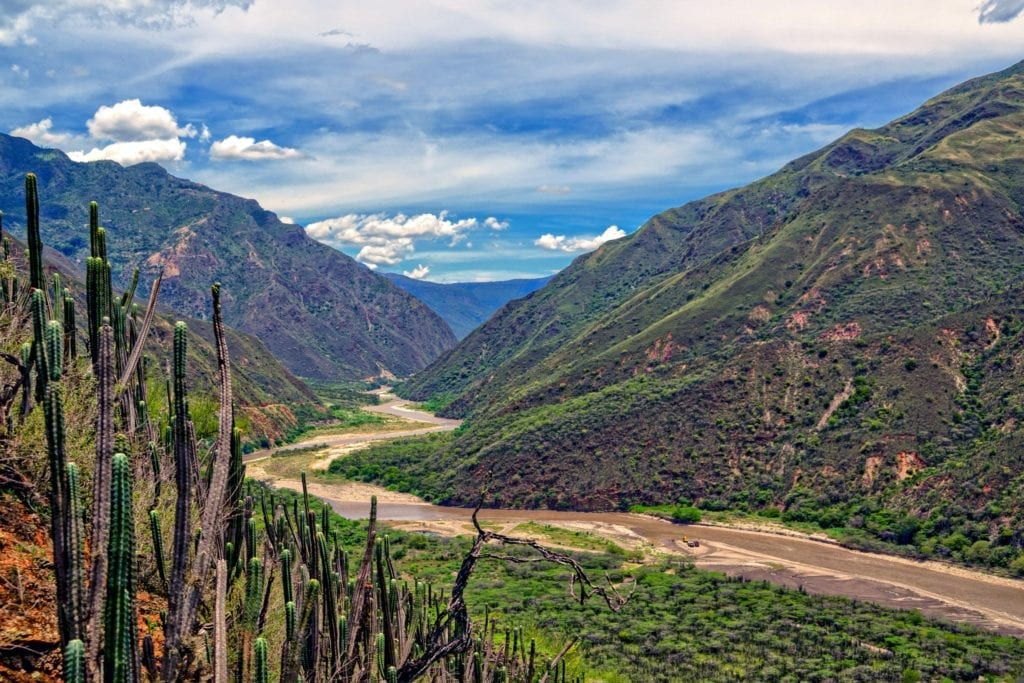 Chicamocha Valley, Colombia