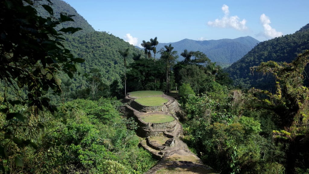Colombia trek to the lost city