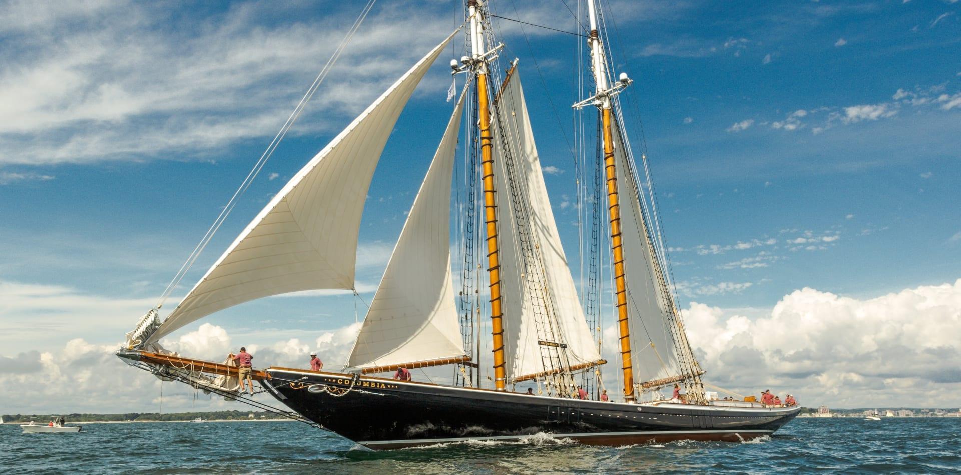 columbia sailing yacht exterior hero
