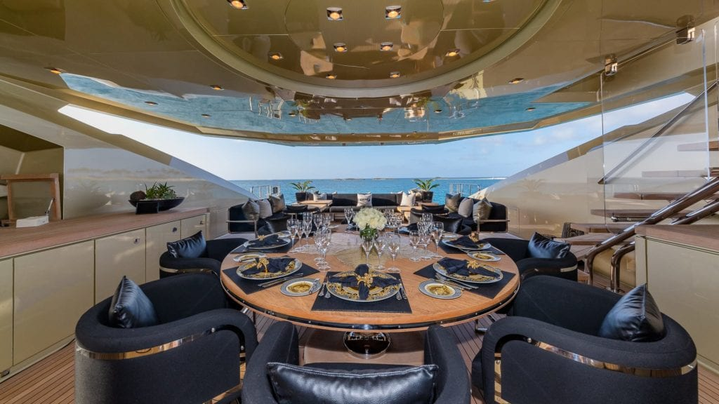 db9 yacht exterior deck
