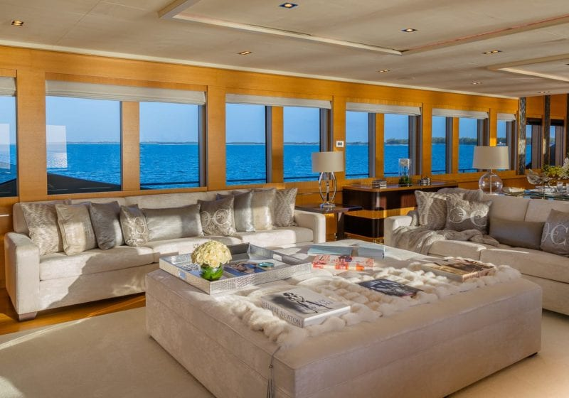 db9 yacht interior lounge